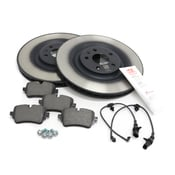 Audi Brake Kit - Genuine Audi VW 4M0615601PKT
