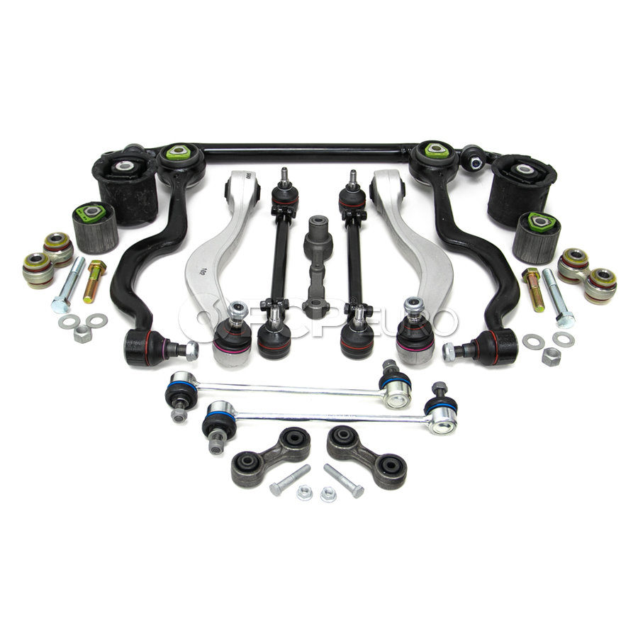 BMW 18-Piece Control Arm Kit - Lemforder KIT-E3418PIECEL