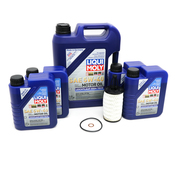 Mercedes Oil Change Kit 5W40 - Liqui Moly 2761800009KT