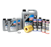 Volvo Oil Change Kit 0W-30 (+Additives) - Liqui Moly KIT-522282KT2
