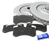 Audi VW Brake Kit - Zimmermann/TRW 4H0615301ALKT