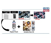 4 Cylinder Diesel Additive Kit (Step 1) - Liqui Moly LMK0007