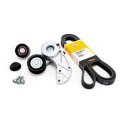 Porsche Accessory Drive Belt Kit - Contitech/INA 7DK2074KT