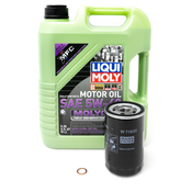Audi VW Oil Change Kit 5W40 - Liqui Moly 06A115561BKT