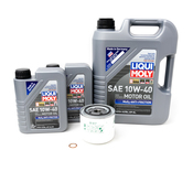 Volvo Oil Change Kit 10W40 - Liqui Moly 3517857KT11