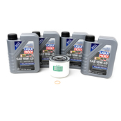 Volvo Oil Change Kit 10W40 - Liqui Moly 3517857KT5