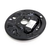 VW Drum Brake Backing Plate - Genuine VW 5C0609425A