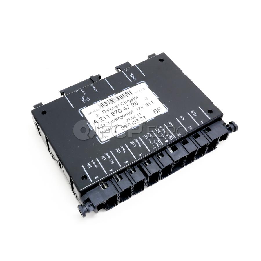 Mercedes Power Seat Control Module - OE Supplier 2118704726