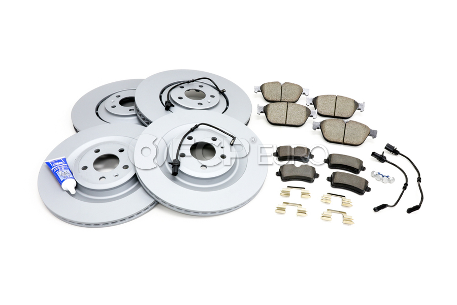 Audi Brake Kit - Zimmermann 4H0615301AAKT