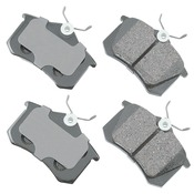 Audi VW Brake Pad Set - Akebono EUR340B
