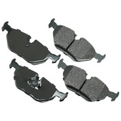 BMW Brake Pad Set - Akebono EUR396
