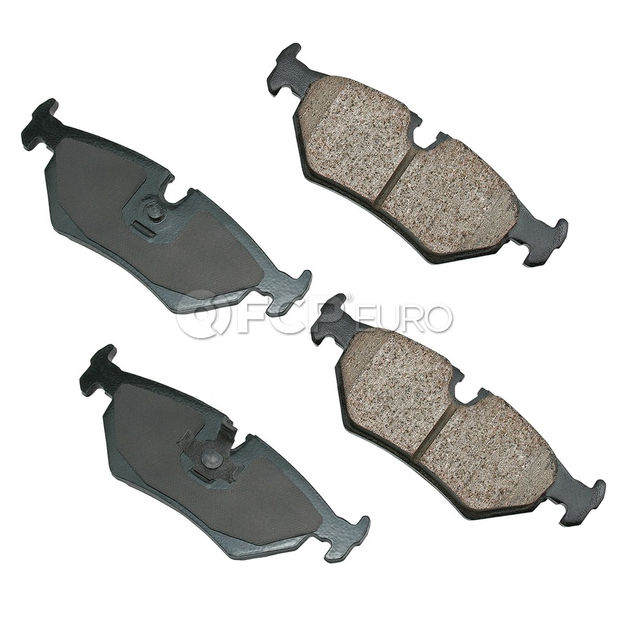 Jaguar Brake Pad Set - Akebono 18029081
