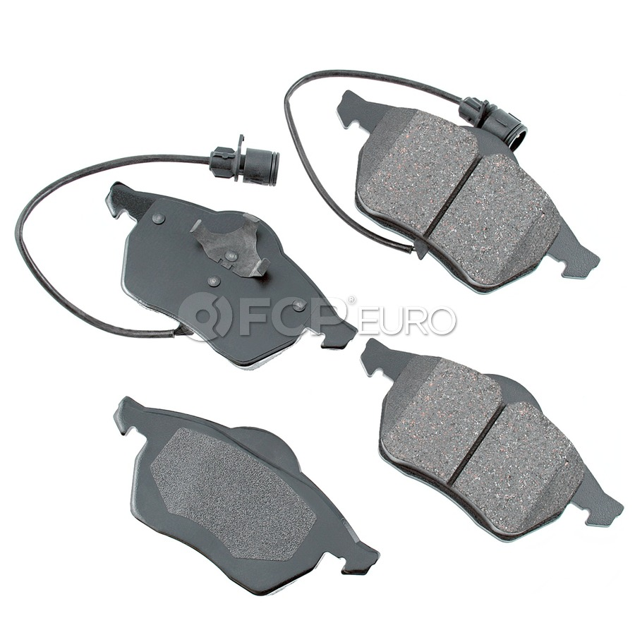 Audi VW Brake Pad Set - Akebono 4A0698151C