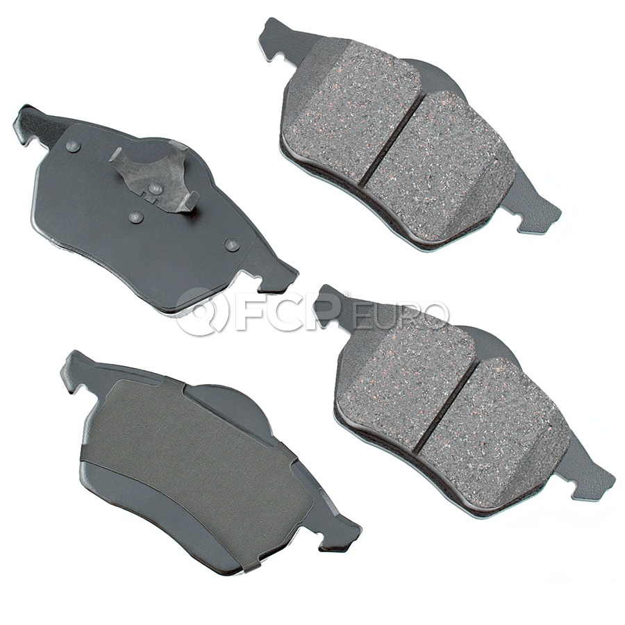 VW Brake Pad Set - Akebono 3A0698151
