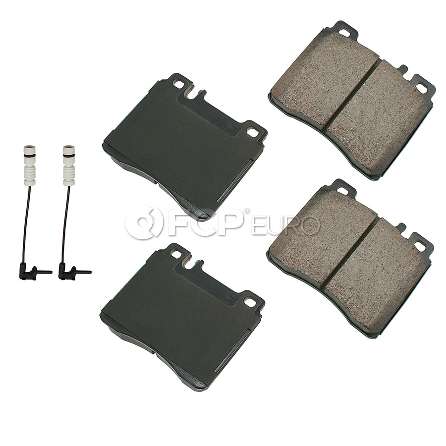 Brake Pad Set - Akebono - EUR689