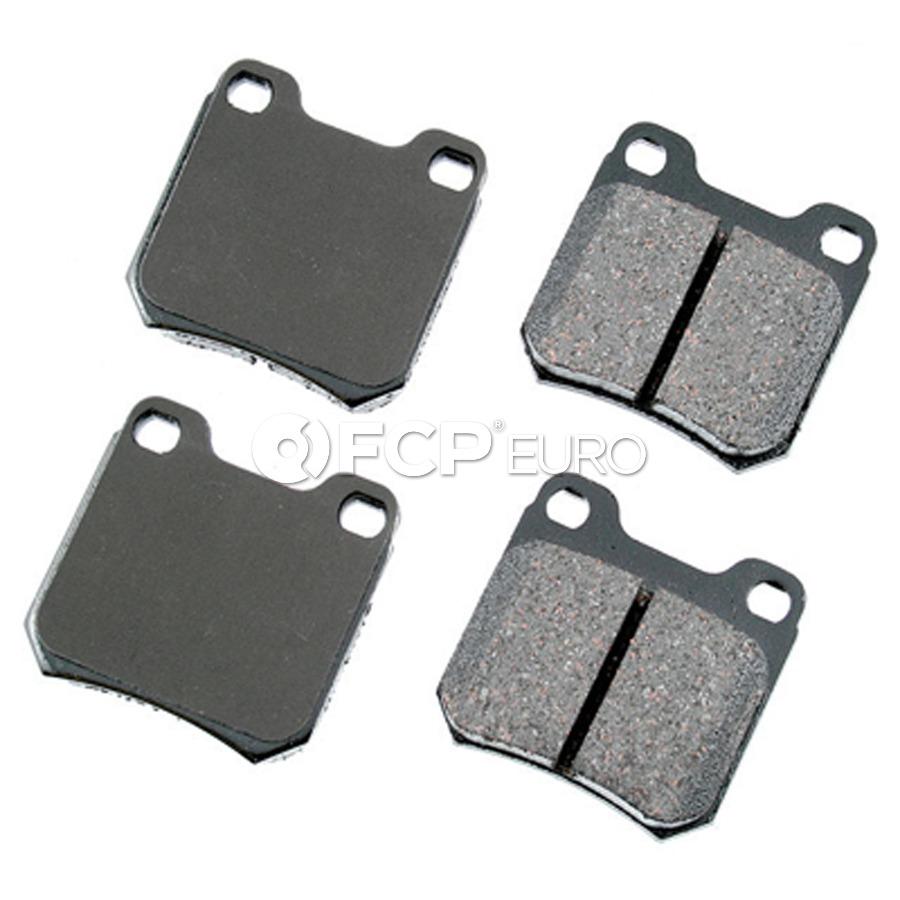 Saab Brake Pad Set - Akebono 9193476
