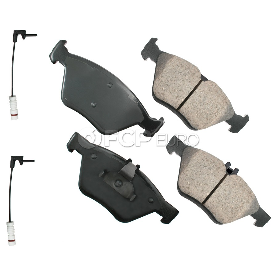 Mercedes Brake Pad Set - Akebono 0044200220