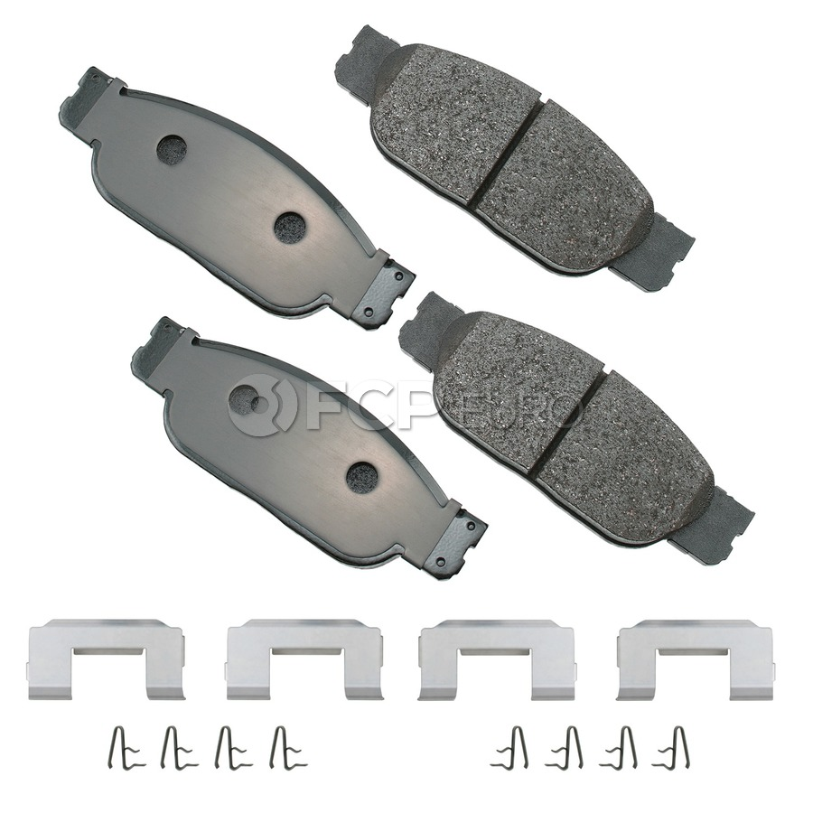 Jaguar Brake Pad Set - Akebono EUR805