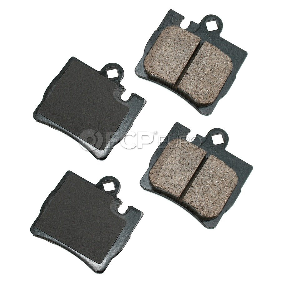 Mercedes Brake Pad Set - Akebono 4420942041