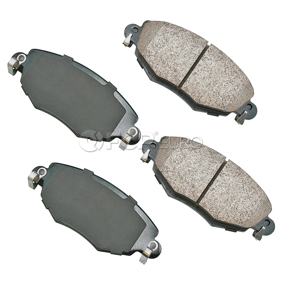 Jaguar Brake Pad Set - Akebono C2S52079