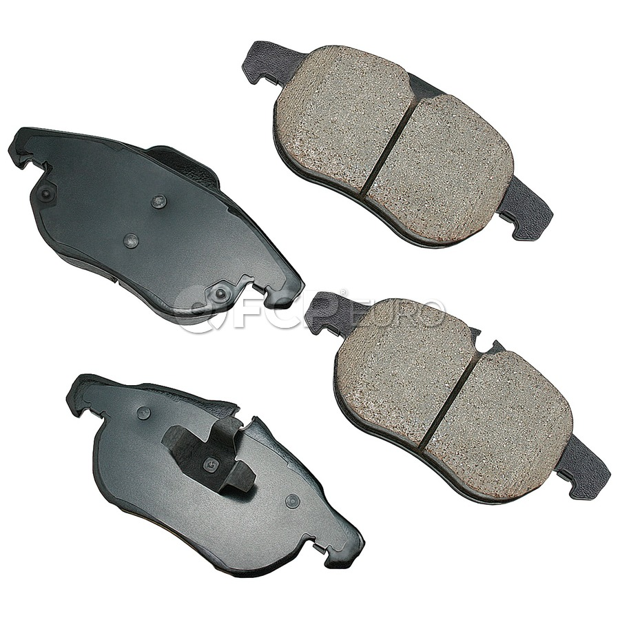 Saab Brake Pad Set - Akebono EUR972