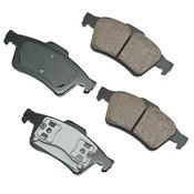 Brake Pad Set - Akebono EUR973