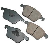 Volvo Brake Pad Set - Akebono 30793265