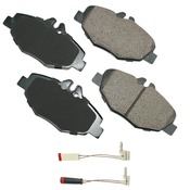 Mercedes Brake Pad Set - Akebono 0044208720