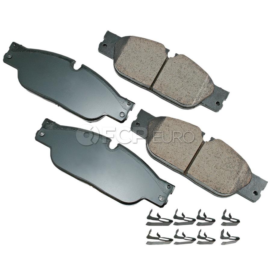 Jaguar Brake Pad Set - Akebono C2C23786