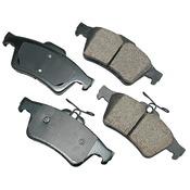 Volvo Brake Pad Set - Akebono 30742031