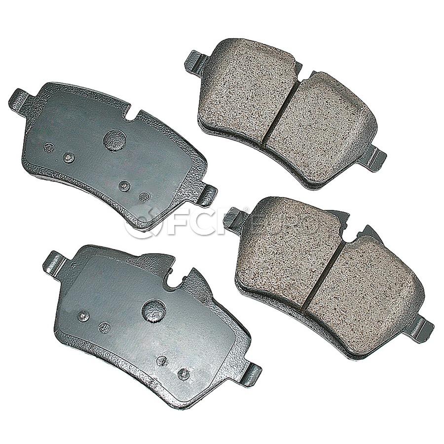 Mini Brake Pad Set - Akebono EUR1204A
