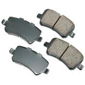 Volvo Brake Pad Set - Akebono EUR1307