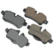 Mini Brake Pad Set - Akebono EUR1309A