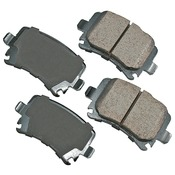 Audi VW Brake Pad Set - Akebono EUR1348A