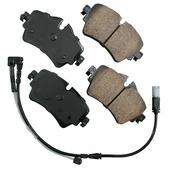 Mini Brake Pad Set - Akebono EUR1801A