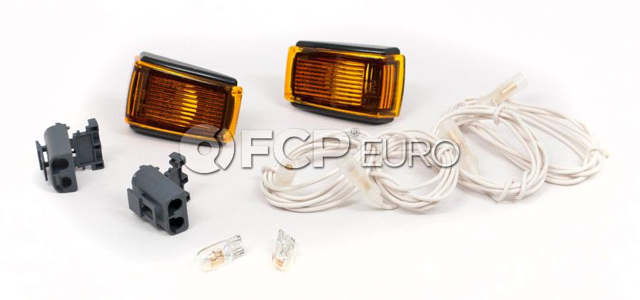Volvo Side Marker Light Adapter Kit (Amber) - 9133609KIT