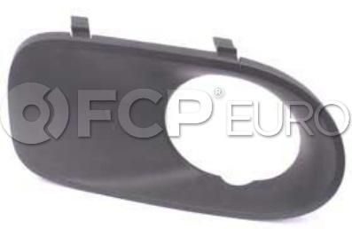 BMW Fog Light Trim Primed - Genuine BMW 51117129299