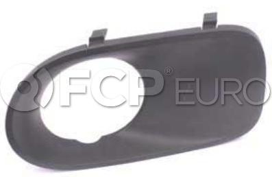 BMW Fog Light Trim Primed - Genuine BMW 51117129300