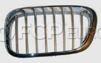 BMW Kidney Grille Titanium - Genuine BMW 51138250051
