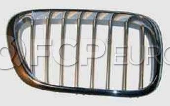 BMW Kidney Grille Titanium - Genuine BMW 51138250052