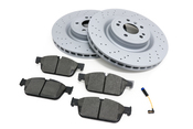 Mercedes Brake Kit - Zimmermann 1664211012