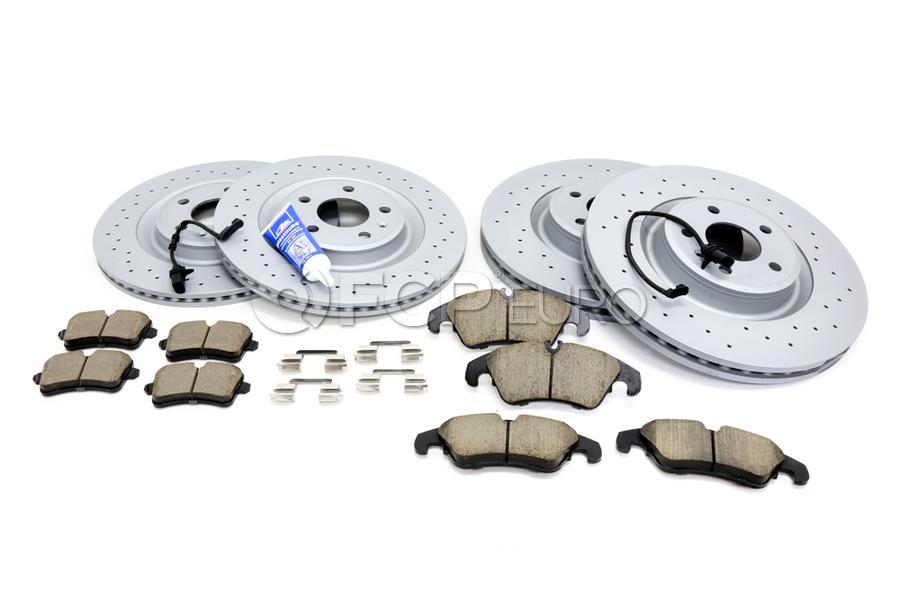 Audi Brake Kit - Zimmermann Sport/Akebono 1003356525KT