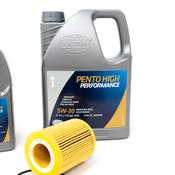 BMW 5W30 Oil Change Kit - Pentosin 11427512300KT1