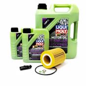BMW 5W40 Oil Change Kit - Liqui Moly Molygen 11427512300KT6