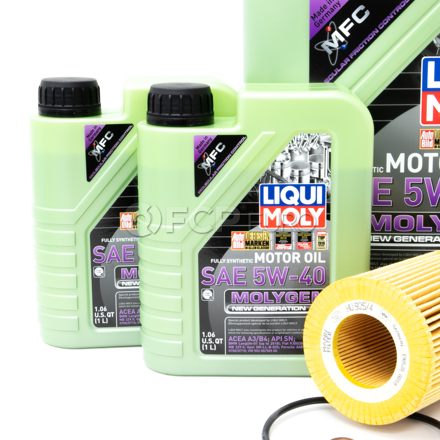 BMW 5W40 Oil Change Kit