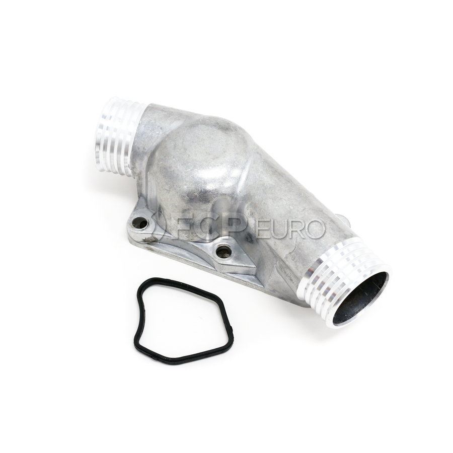 URO Parts 11531436408 Radiator Hose Lower Radiator to T-Stat OE Connectors Housing