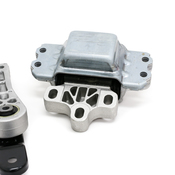 VW Engine Mount Kit - Corteco KIT-1K0199262MKT27