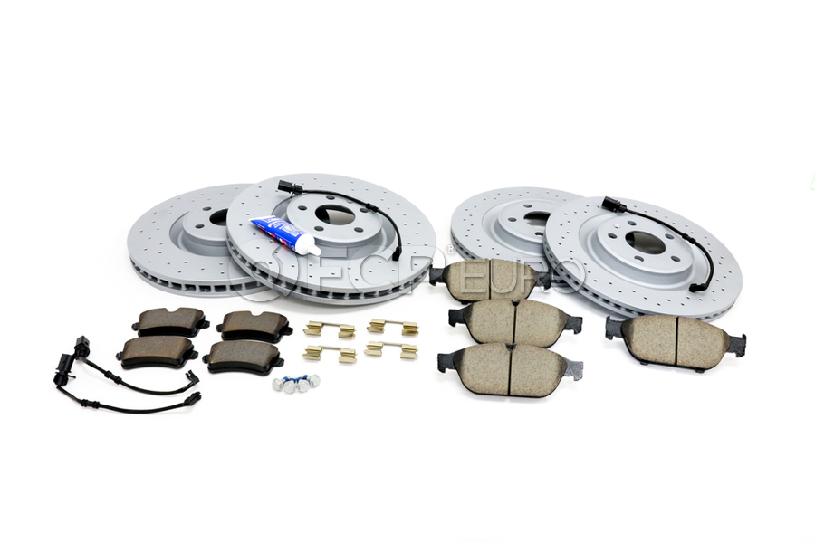 Audi Brake Kit - Zimmermann 4G0615301TKT6