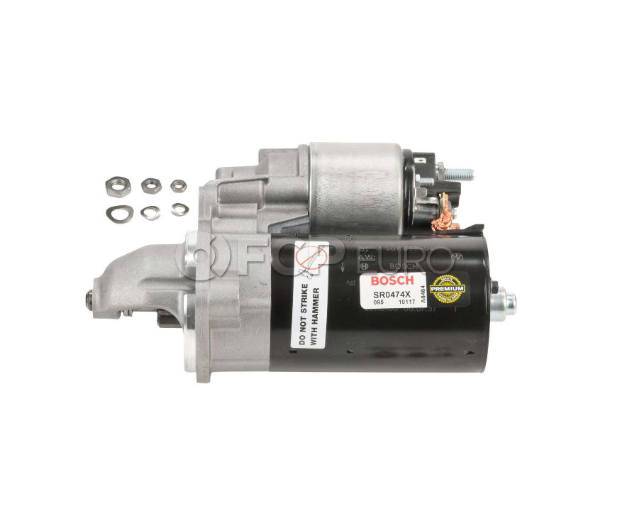 BMW Remanufactured Starter Motor - Bosch SR0474X