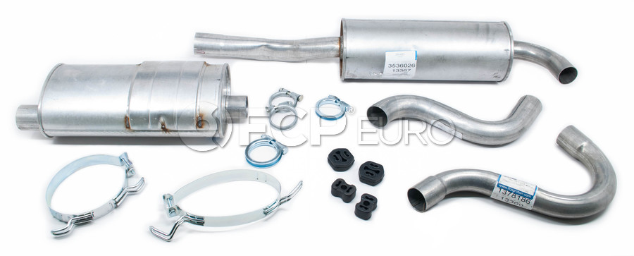 Volvo Exhaust System Muffler Kit - Starla KIT-538779